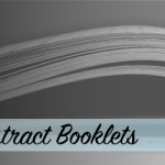 abstract booklets